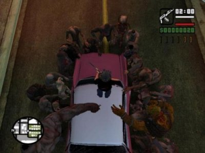 Grand Theft Auto: San Andreas - Resident Evil 5 World Fallen