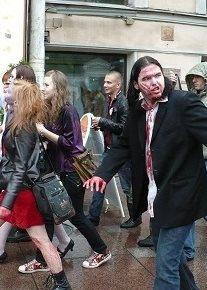 В Неваде произошло нападение зомби