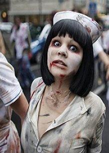 Зомби парад в Хабаровске не состоялся