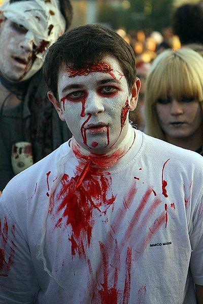 Как организовать зомби флешмоб